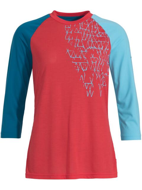 VAUDE Moab III LS Shirt Women magma